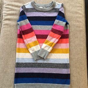 GAP Girls Striped Sweater Dress Small